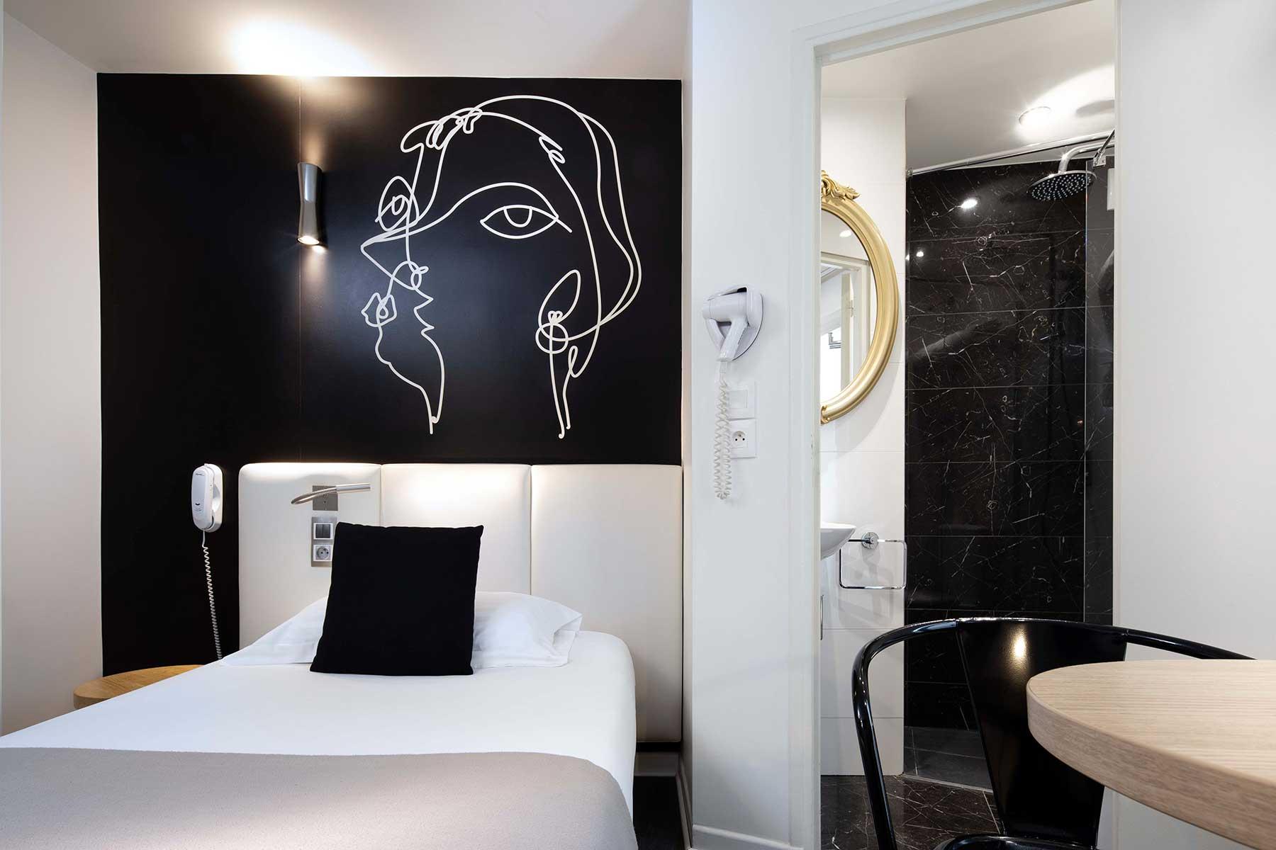 chambre-single-hotel-montparnasse-saint-germain